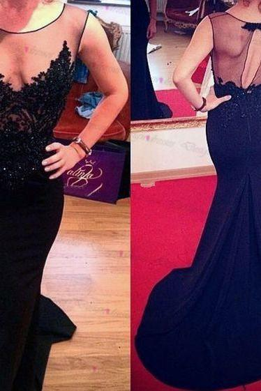 Tulle prom dress,Chiffon prom dress,black prom dress,Sexy prom dresses,prom dresses 2016,Cheap prom dresses,Long prom dress,dress for prom